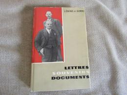 Lénine Et Gorki - Lettres,Souvenirs,Documents - Unclassified