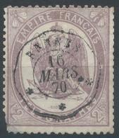 Lot N°58536  N°8, Oblit Cachet à Date De Rennes, Ille-et-Vilaine (34) - Telegraph And Telephone