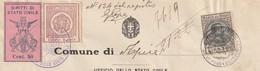 Apice. 1930. Marche Municipali (comunale) Diritti Di Stato Civile L. 1 + C.50, Su Certificato Di Nascita - Italie