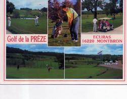16 - ECURAS - Golf De La Preze - Ed Artaud 33 - France