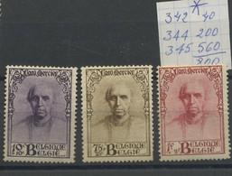 3 Val Mercier Avec * Très Légère  Lichte Spoor - Unused Stamps