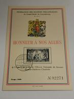 Honneur à Nos Alliés, Britannia - Ganzsachen