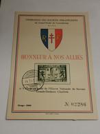 Honneur à Nos Alliés, France - Ganzsachen