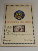 Honneur à Nos Alliés, America - Ganzsachen