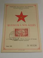 Honneur à Nos Alliés, Russia - Ganzsachen