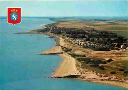 85 - L'Aiguillon Sur Mer - Pointe De L'Aiguillon - Vue D'ensemble De La Plage Et Du Camping Des Dunes - Vue Aérienne - C - Autres Communes