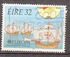 EIRE 1992 ***europa Deouverte Des Ameriques YT 795 - 1949-... Republiek Ierland