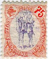 Cote Des Somalis 1902 Méhariste 75c  YT 49 - Nuovi