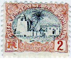 Cote Des Somalis 1903 Mosquée 2c  YT 54 - Nuovi