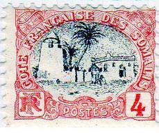 Cote Des Somalis 1903 Mosquée 4c  YT 55 - Nuovi