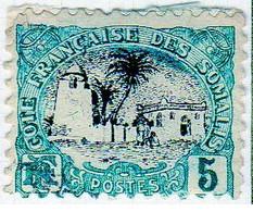 Cote Des Somalis 1903 Mosquée 5c  YT 56 - Nuovi