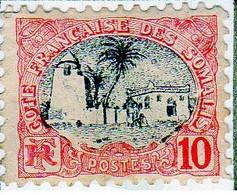 Cote Des Somalis 1903 Mosquée 10c  YT 57 - Nuovi