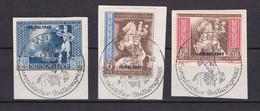 Deutsches Reich - 1942 - Michel Nr. 823/825 - Sonderstempel - Briefst. - Used Stamps