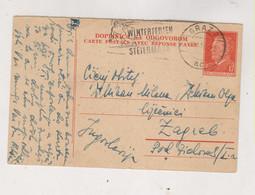 YUGOSLAVIA  Postal Stationery Answer Sent From Graz Austria 1956 - Covers & Documents