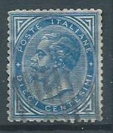 Italie YT N°16 Victor-Emmanuel II Oblitéré ° - Usados