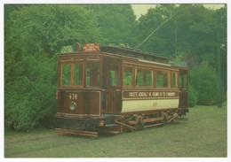 Z04 - Belgium - Brussels - The Chocolate Tram, A Closed Car No 410 - Strassenbahnen