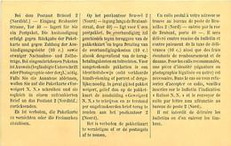 Belgique. CP De Service : Avis D'arrivée D'un Colis à Bruxelles Nord (14-18)   Trous D'épingle - [OC1/25] Gen. Gouv.