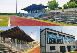 Cpm 10x15 (Tirage Limité 100 Ex.) Foot. Stade . ITALIE. PORTO SANT' ELPIDIO . Stadio G. Ferranti - Fussball