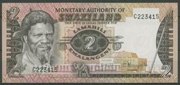 Swaziland 2 Emalangeni 1974, KM 2 A Kassenfrisch (K355) - Swaziland