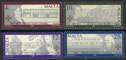 Malta 1990. Mi 837-840, SG 870-873, Postfrisch **, MNH - Malta