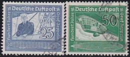 Deutsches Reich   .    Michel    .   669/670     .    O   .    Gebraucht .   /   .    Cancelled - Gebraucht
