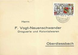 """Motiv Karte  Bleiken Bei Oberdiessbach - """"Vogt, Oberdiessbach""""  (750 Jahre Bern)          1941 - Covers & Documents"""