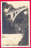SLAP VINTGAR - Zeleznicki Most - Railroad Bridge - Voz - Train. Slovenia A253/36 - Slovenia