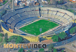 Cpm 10x15 (Tirage Limité 100 Ex.) Foot. Stade . URUGUAY . MONTEVIDEO . Estadio Centenario - Football