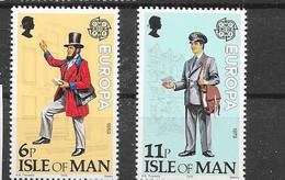135/6 * *  Postfris Zonder Scharnier - Isle Of Man