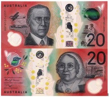 AUSTRALIA, 20 DOLLARS, 2019, Pick New, POLYMER, UNC - 2005-... (polymère)