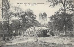 CARTE POSTALE BRUNOY - CABANE DE BUCHERONS FORET DE SENART - Brunoy
