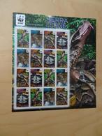 Sierra Leone Michel 5498/01 KB WWF Schlangen Postfrisch (14176) - Nuevos