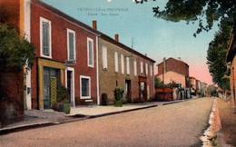 3164 Carte Postale  PEYROLLES En PROVENCE Route Des Alpes          13 Bouche Du Rhône - Peyrolles