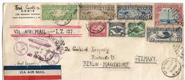 U.S.A 28 Octobre 1928.  Zeppelin Pour L'Allemagne - 1a. 1918-1940 Used