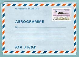 Entiers Postaux - Aérogramme - YT 1007 AER - Concorde Survolant Paris 2,35 F - Aérogrammes