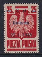 POLAND 1945 Gniezno Fi 354 Mint Never Hinged - Nuovi