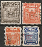 Guatemala 1942-49 Sc RA20-3  Postal Tax Used - Guatemala