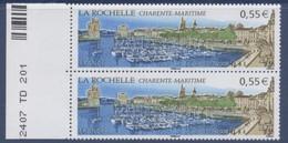 N° 4172 La Rochelle Faciale 0,55 € X2 - Ongebruikt