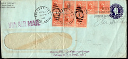 USA - Letter - 1942 - Via Air Mail - A1RR2 - Covers & Documents