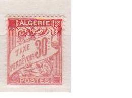 ALGERIE       N°  YVERT  :   TAXE   25    NEUF AVEC CHARNIERES      ( CHARN  03/ 46  ) - Timbres-taxe