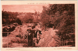 6DT 343 CPA - ENVIRONS D'ANNECY - LA MER DES ROCHERS - Annecy