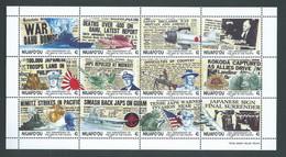 Tonga Niuafo'ou 1992 WWII Anniversary Miniature Sheet MNH - Tonga (1970-...)
