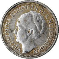 Monnaie, Pays-Bas, Wilhelmina I, 10 Cents, 1936, TTB, Argent, KM:163 - 10 Cent