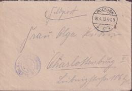 POLAND 1918 Feldpost Cover Pultusk To Charlottenburg - Unclassified