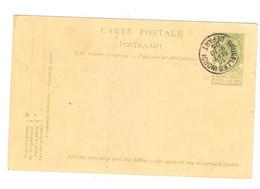 Belgie Belgique PAP Superbe Entier Postal Oblitéré Cachet Bruxelles INORDI 16 Sept 9-10 05 Anullo - Cartoline [1871-09]