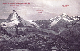 Suisse - ZERMATT - Kulmhotel Gornergrat - 1910 - VS Valais