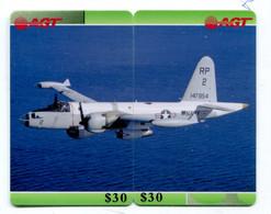 Télécarte AGT - Puzzle De 2 Télécartes - Avion - Puzzles