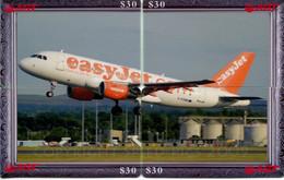 Télécarte AGT - Puzzle De 4 Télécartes - Avion (Easyjet) - Puzzles