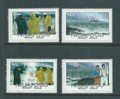 Tonga Niuafo'ou 1985 Rocket Mail Set Of 4 MNH - Tonga (1970-...)