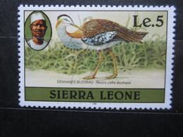VEND BEAU TIMBRE DE SIERRA-LEONE N° 498 , XX !!! (a) - Sierra Leone (1961-...)